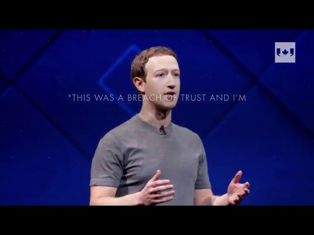 Mark Zuckerberg took out full-page ads to apologize for the Cambridge Analytica data privacy scandal. (The Canadian Press)