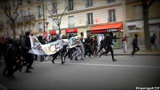 [SHORTCUT] MANIFESTATION INTERDITE DEGENERE / JUSTICE POUR THEO / PARIS / 23 FEVRIER 2017