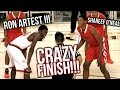 Shareef O'Neal VS Ron Artest III PART 2: RON'S REVENGE! | Crossroads VS Beverly Hills CRAZY GAME