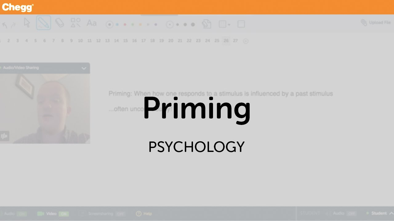 Image Gallery Priming Psychology