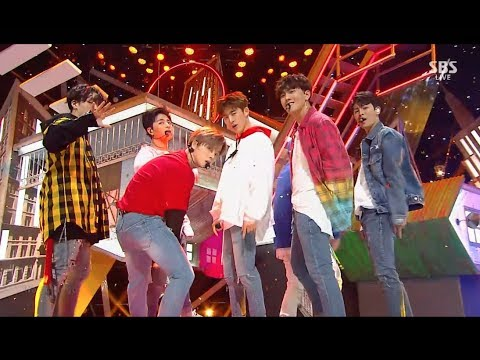 iKON - '고무줄다리기 (RUBBER BAND)' 0311 SBS Inkigayo