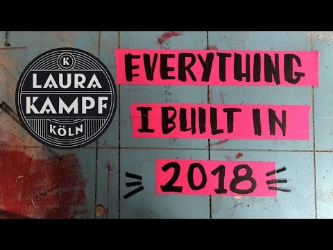 30 projects in 10 minutes - All the things I built in 2018
