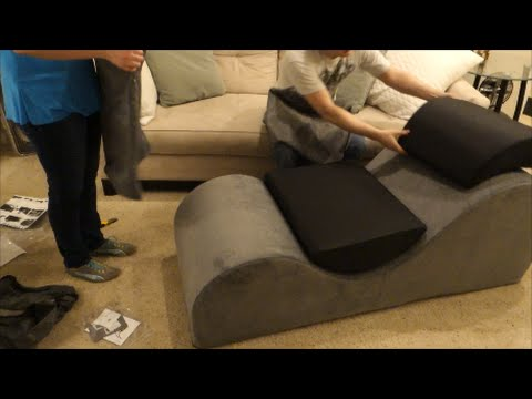 Unboxing Esse Chaise Lounge Chair From Liberator Youtube
