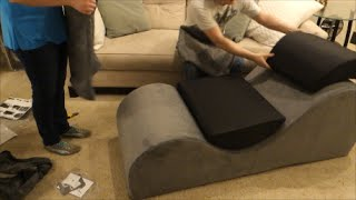 Unboxing Esse Chaise Lounge Chair from Liberator