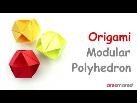 Origami Cuboctahedron (easy - modular)