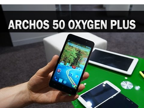 Archos 50 Oxygen Plus, prise en main - par Test-Mobile.fr