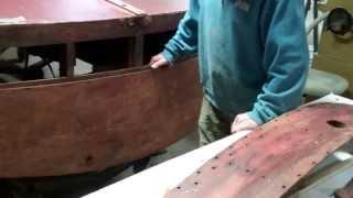 Addressing Transom Planking Issues 1946 Gar Wood Ensign 1 8 2014