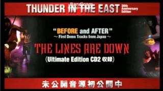 The Lines Are Down (Demo version) - LOUDNESS