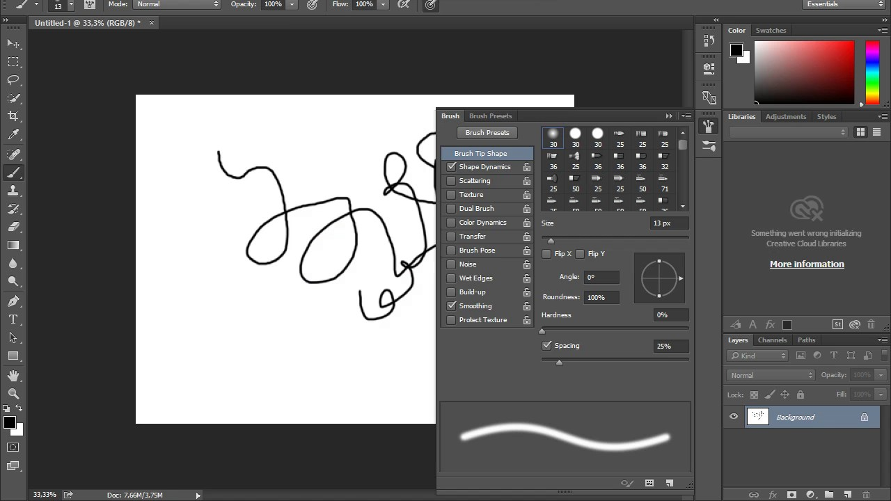 (SOLVED) Pressure issue in the Photoshop CC 2015 - Graphic tablet XP-Pen  Star 03 ?Solution?