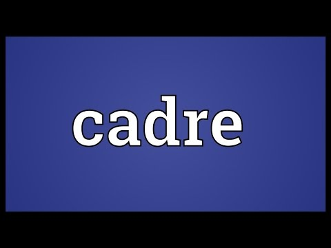 Cadre Meaning thumbnail