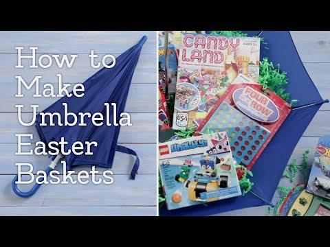 How to Make Umbrella Easter Baskets │VIDEO │Kroger