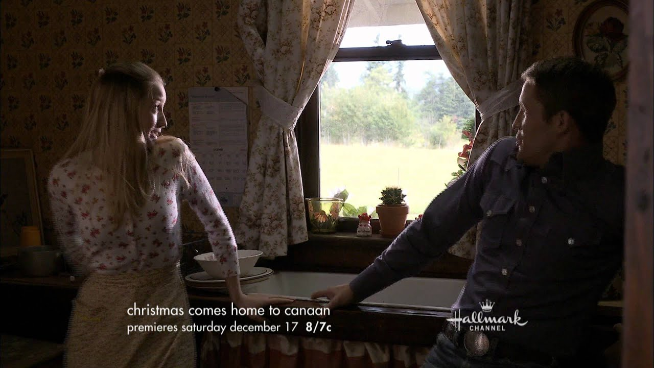 Hallmark Channel - Christmas Comes Home To Canaan - Premiere Promo ...