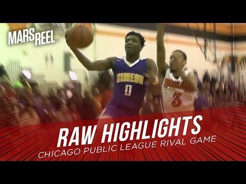 Simeon vs Bogan | Chicago Public League RIVAL GAME | RAW HIGHLIGHTS