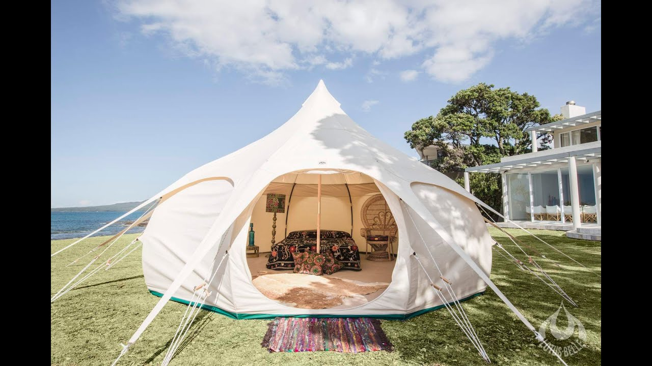 Lotus Belle Tents NEW Instructional Video - YouTube