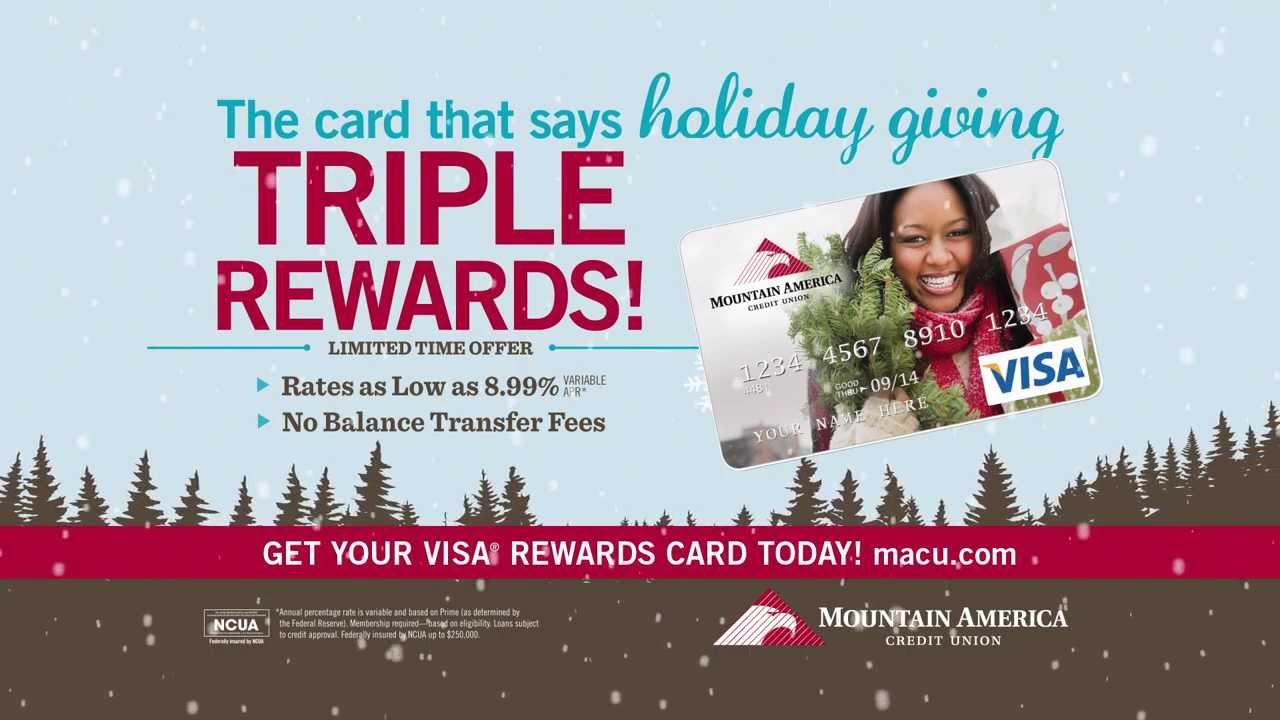 Visa Triple Rewards   Mountain America Credit Union