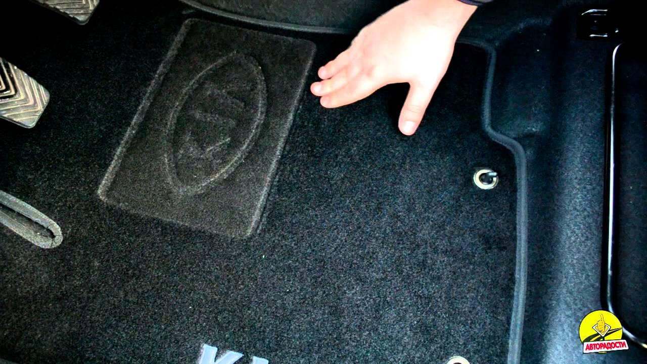 EVA коврики, 3D коврики автомобильные, коврики в cалон - YouTube