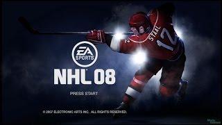 NHL 08 - Развлекаюсь, пока нет интернета