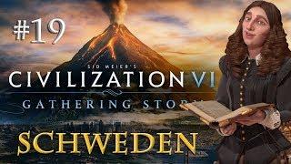Let's Play Civilization 6 Gathering Storm - Schweden #19: Schwedische Renaissance (Preview)