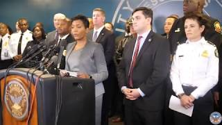 Mayor Keisha Lance Bottoms holds press confrence to announce the College Football National Champions