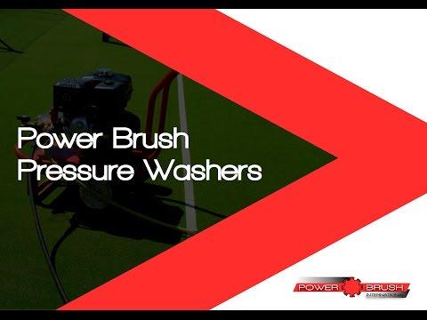 Power Brush Pressure Washers