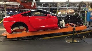 Chevy Corvette Stingray C7: Behind the Scenes of it's Design, Engineering & Build - Part One