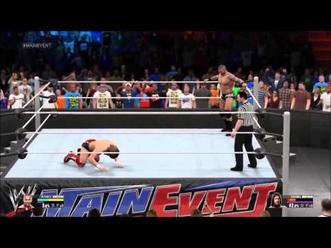 WWE 2K15 signatures finishing moves