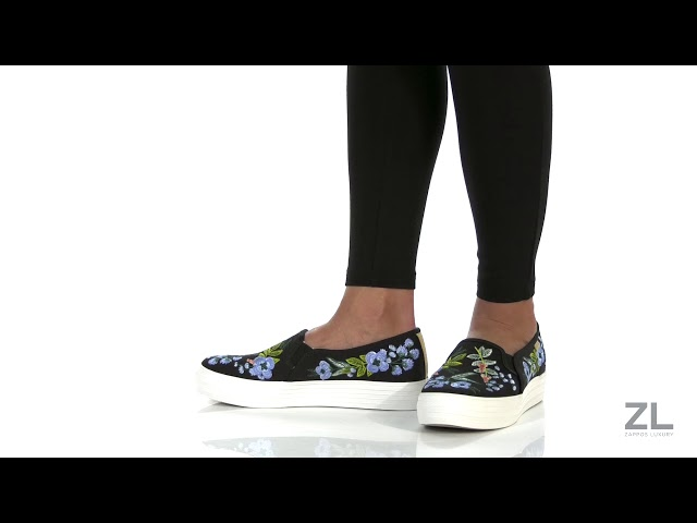 7f61538b63c0b Keds x Rifle Paper Co. Triple Decker Embroidered Herb Garden at Zappos.com