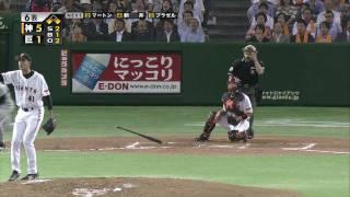 2010/8/4 巨人vs阪神 6回 平野1号3ラン