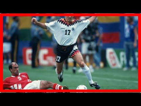 The World Cup's most iconic stars: Yordan Letchkov for Bulgaria at USA 1994