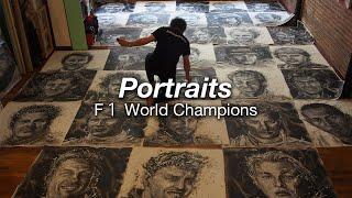 Portraits - History of F1 World Champions