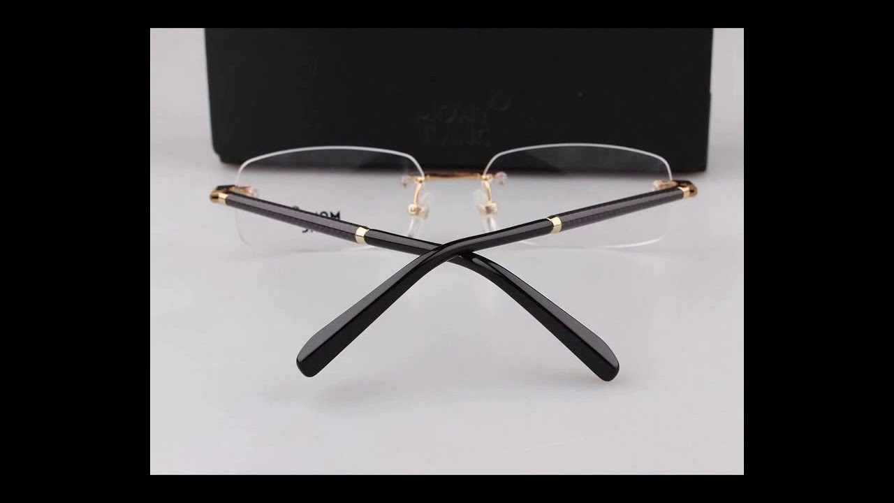 33992a5c171 montblanc eyeglasses wholesale suppliers MB150 - YouTube