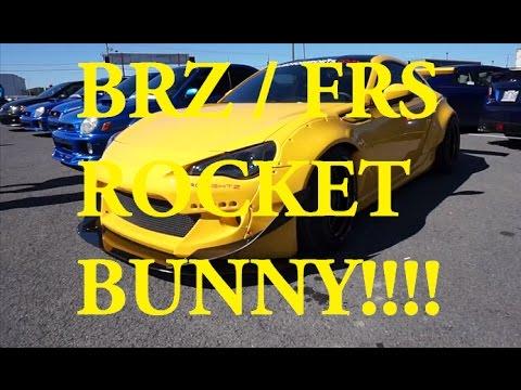 Toyota FT86 / FRS  Rocket Bunny V2 Wide Body Kit