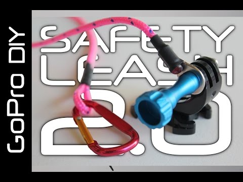 DIY SAFETY LEASH for all GoPro cameras, including HERO 6