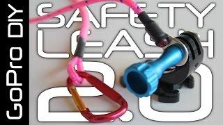 DIY SAFETY LEASH for all GoPro cameras, including HERO 6 - G...