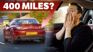 Can A Mazda RX-8 Achieve Over 400 Miles On One Tank?