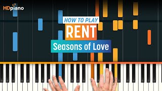 """Seasons of Love"" by Rent 