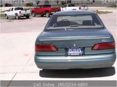 1993 ford taurus used cars hartington ne youtube. Black Bedroom Furniture Sets. Home Design Ideas