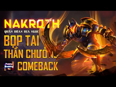 LIÊN QUÂN | Comeback lại bộ trang bị HUYỀN THOẠI của Nakroth và Cái Kết