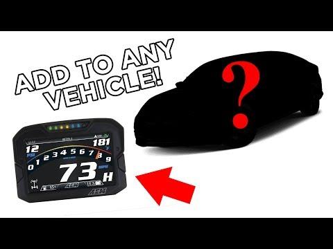 Add A CD Digital Dash TO ANY VEHICLE!