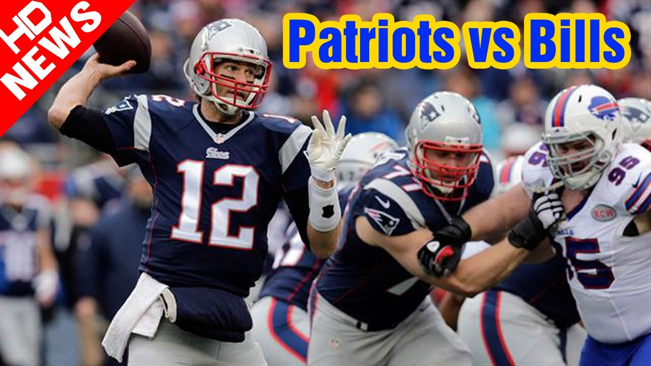 Image result for Patriots vs Bills Live pic logo