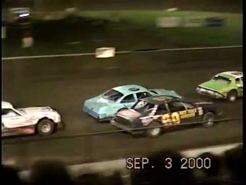 Dodge County Speedway Kasson Street stock Feature Sept. 3, 2000