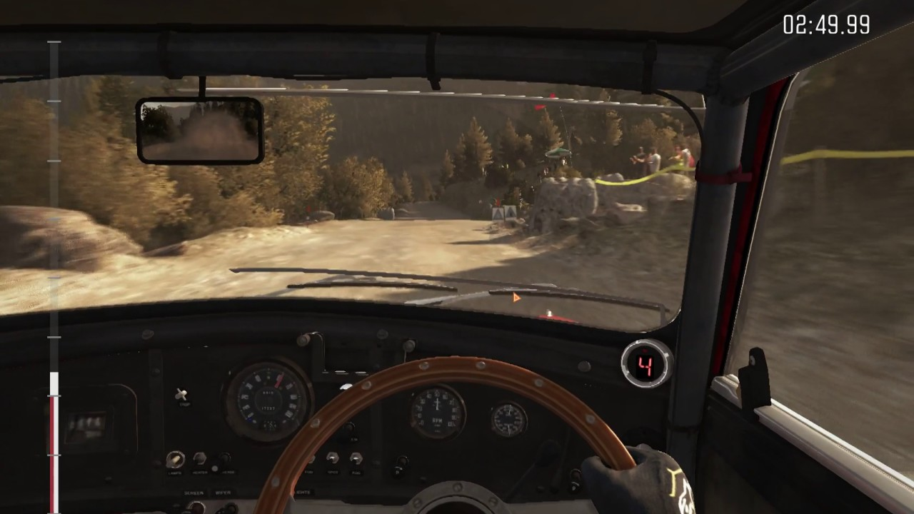 Dirt Rally mouse steering (Greece) Tsiristra Thea with vJoy and  mousesteering program