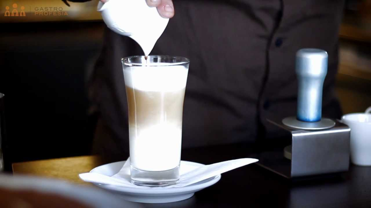how to make a caffe macchiato