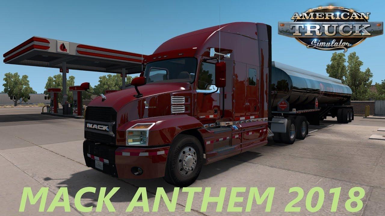 American Truck Simulator MACK ANTHEM 2018