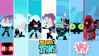 Teeny Titans - All Multiverse Teen Titans Team VS The Hooded Hood - iOS / Android Gameplay Video