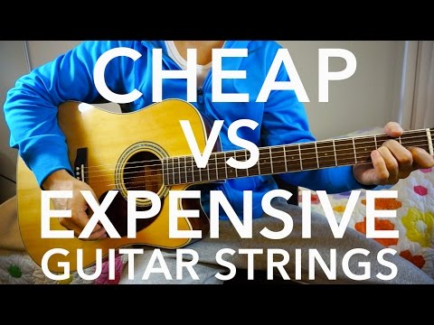 Download Youtube: Cheap Vs Expensive Guitar Strings