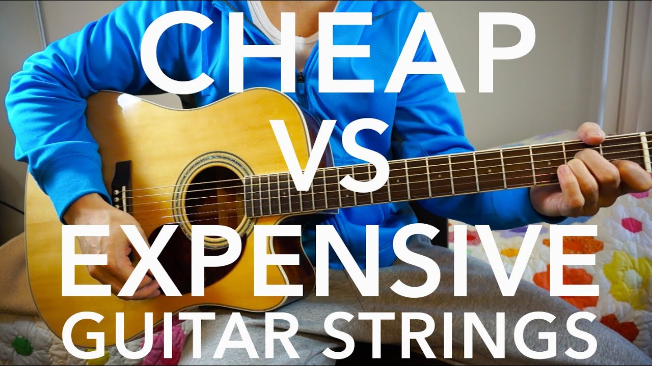 cheap vs expensive guitar strings youtube. Black Bedroom Furniture Sets. Home Design Ideas