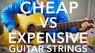 Cheap Vs Expensive Guitar Strings