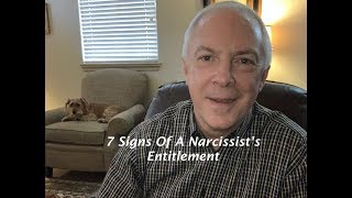 7 Signs Of A Narcissist's Entitlement