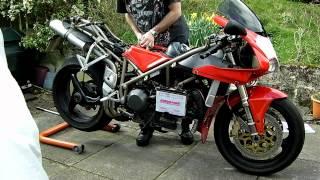 Ducati 916 / 748 / 996 timing belt change, video 1